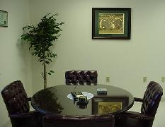 Conference Table in Tom's Office